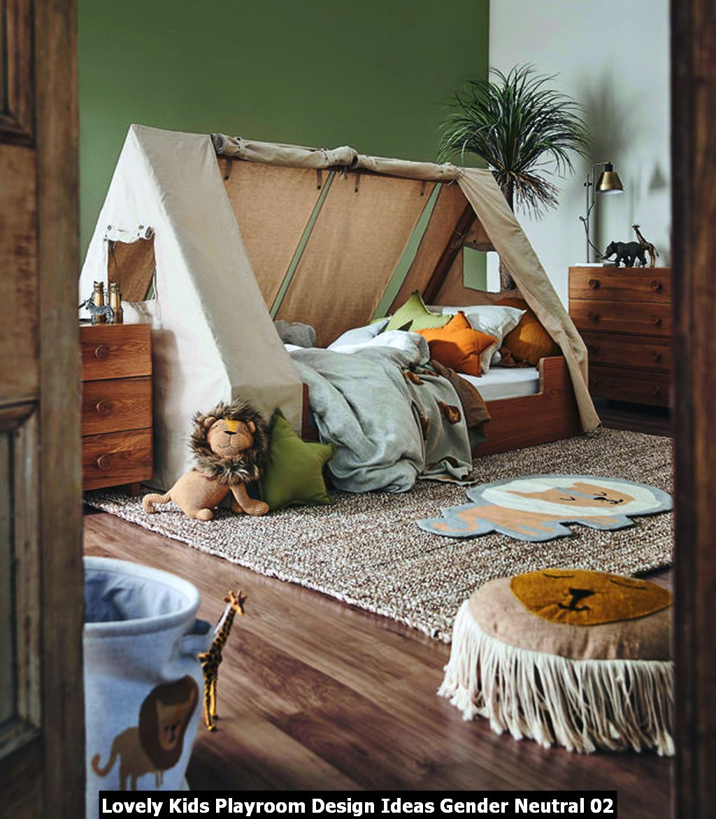 Lovely Kids Playroom Design Ideas Gender Neutral 02