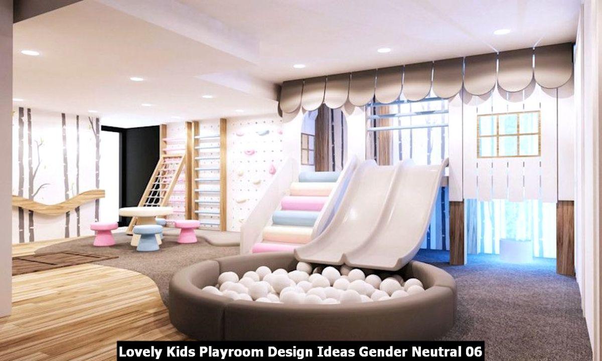 Lovely Kids Playroom Design Ideas Gender Neutral 06