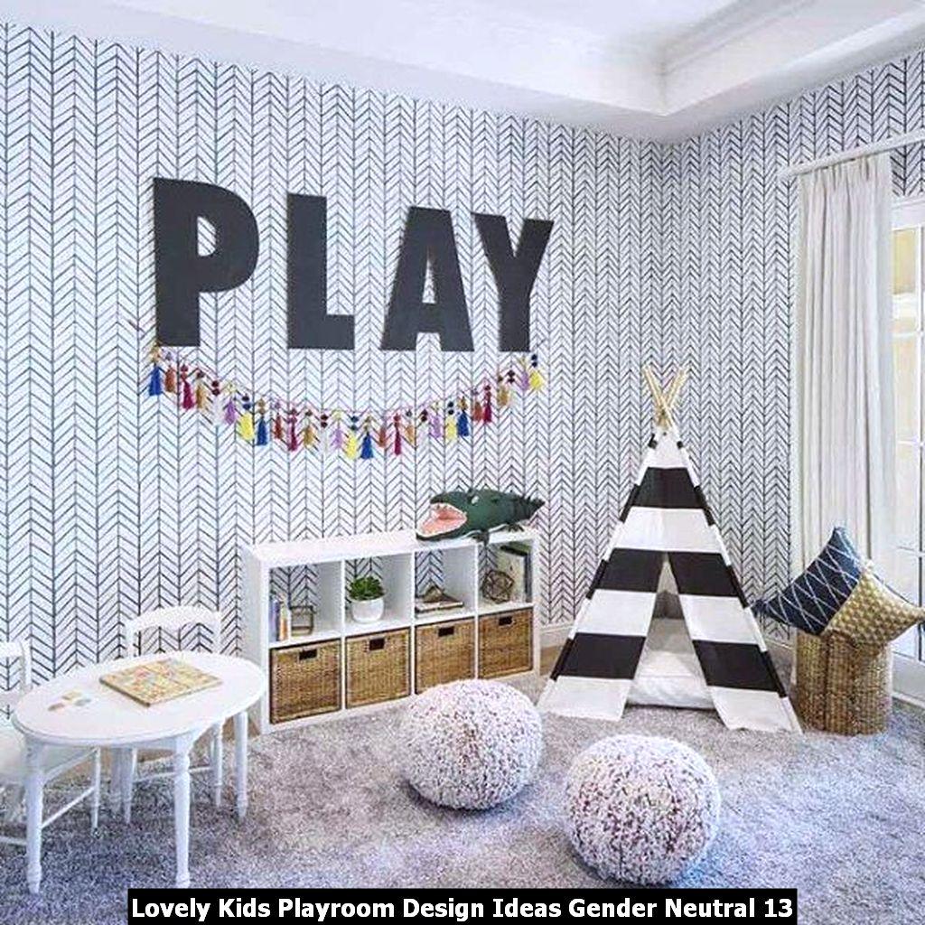 Lovely Kids Playroom Design Ideas Gender Neutral 13