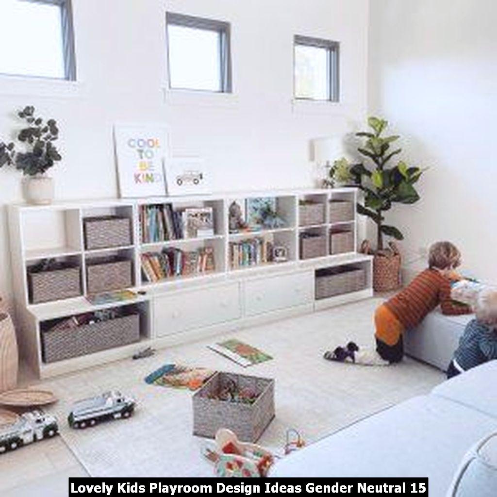 Lovely Kids Playroom Design Ideas Gender Neutral 15