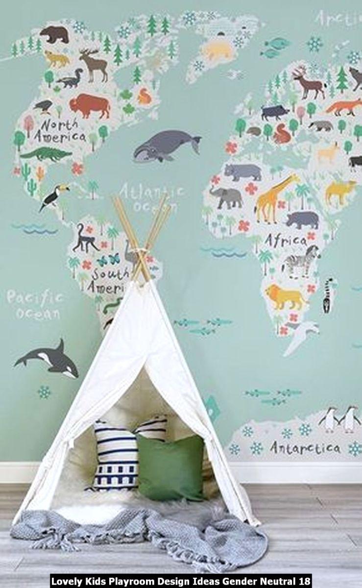 Lovely Kids Playroom Design Ideas Gender Neutral 18