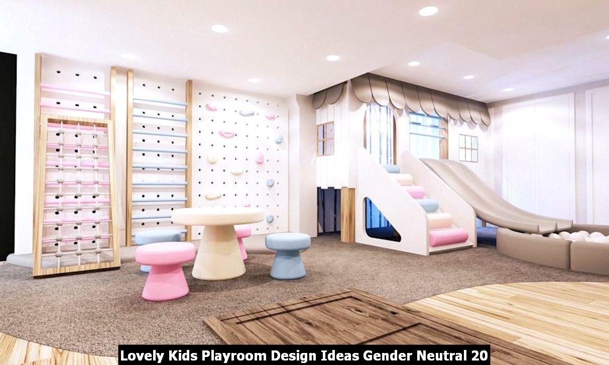 Lovely Kids Playroom Design Ideas Gender Neutral 20