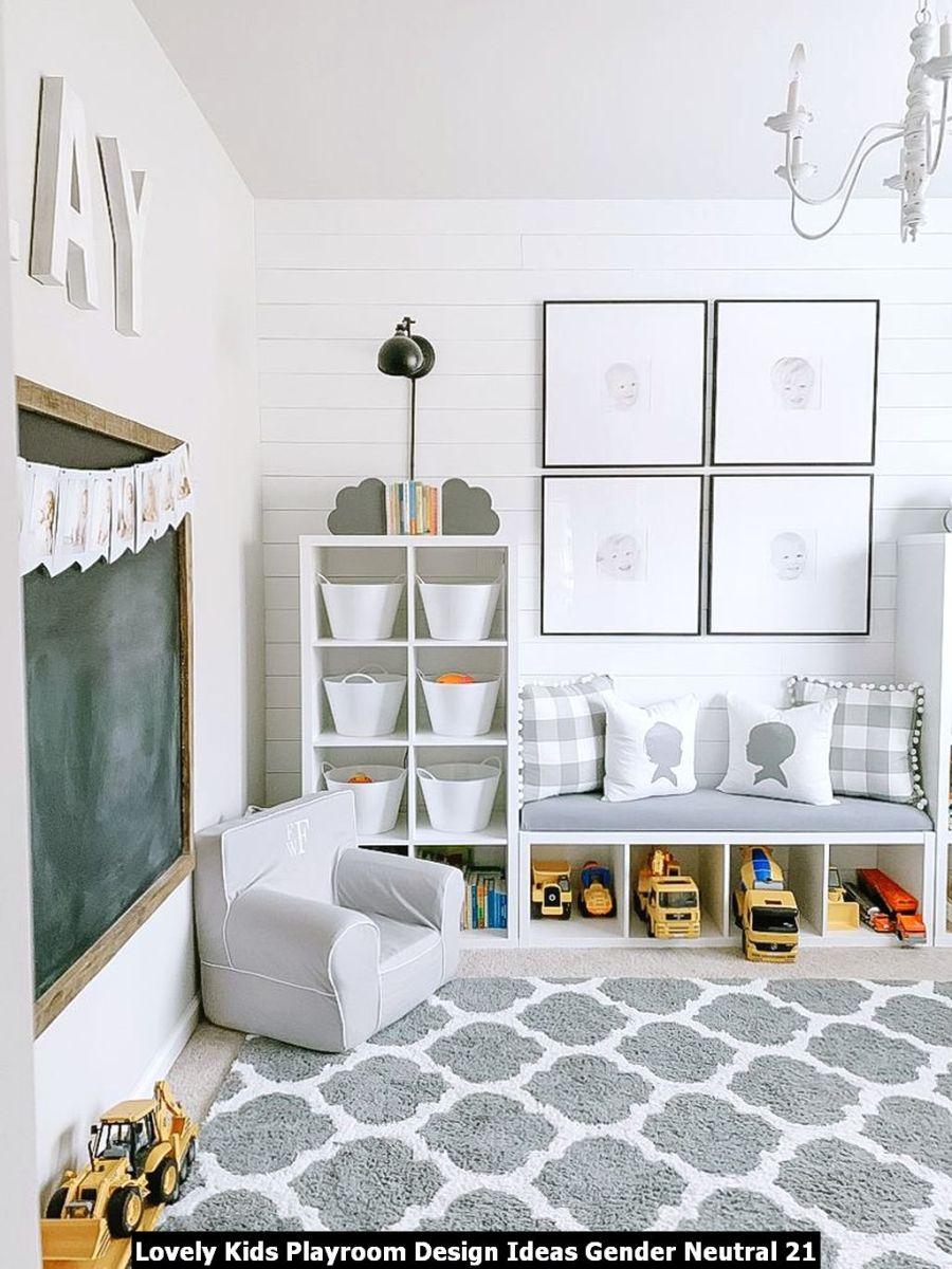 Lovely Kids Playroom Design Ideas Gender Neutral 21