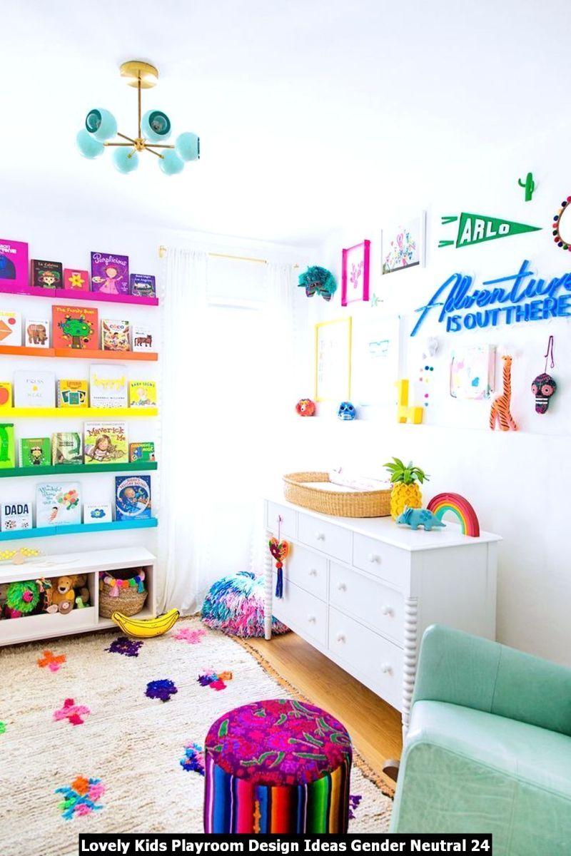 Lovely Kids Playroom Design Ideas Gender Neutral 24