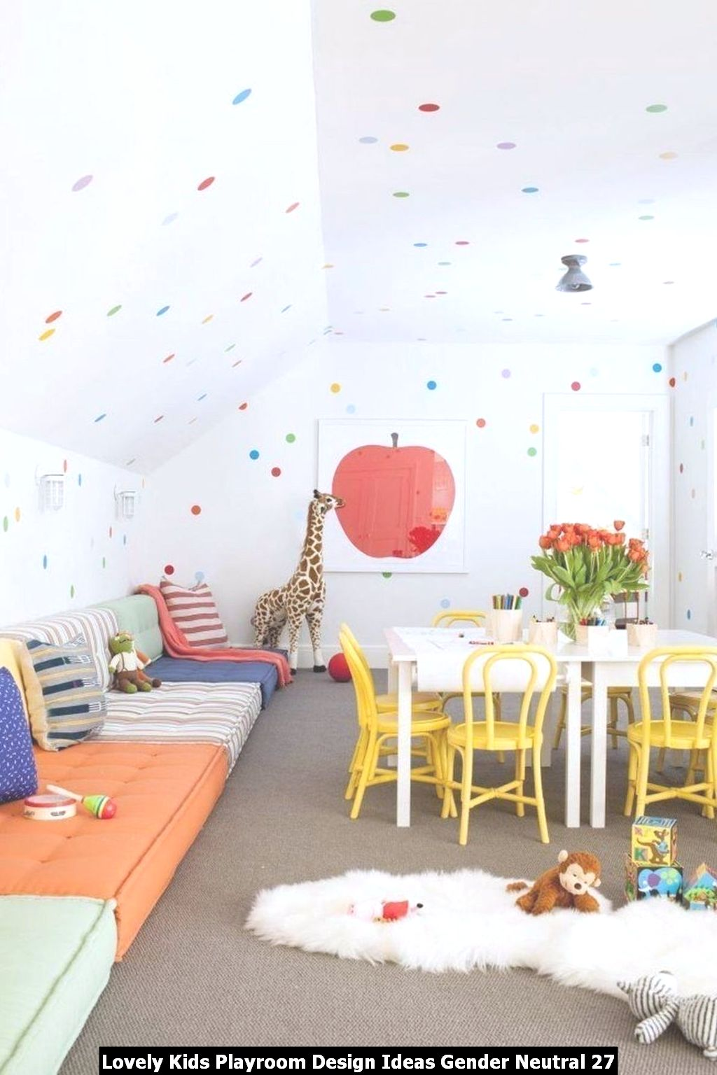 Lovely Kids Playroom Design Ideas Gender Neutral 27