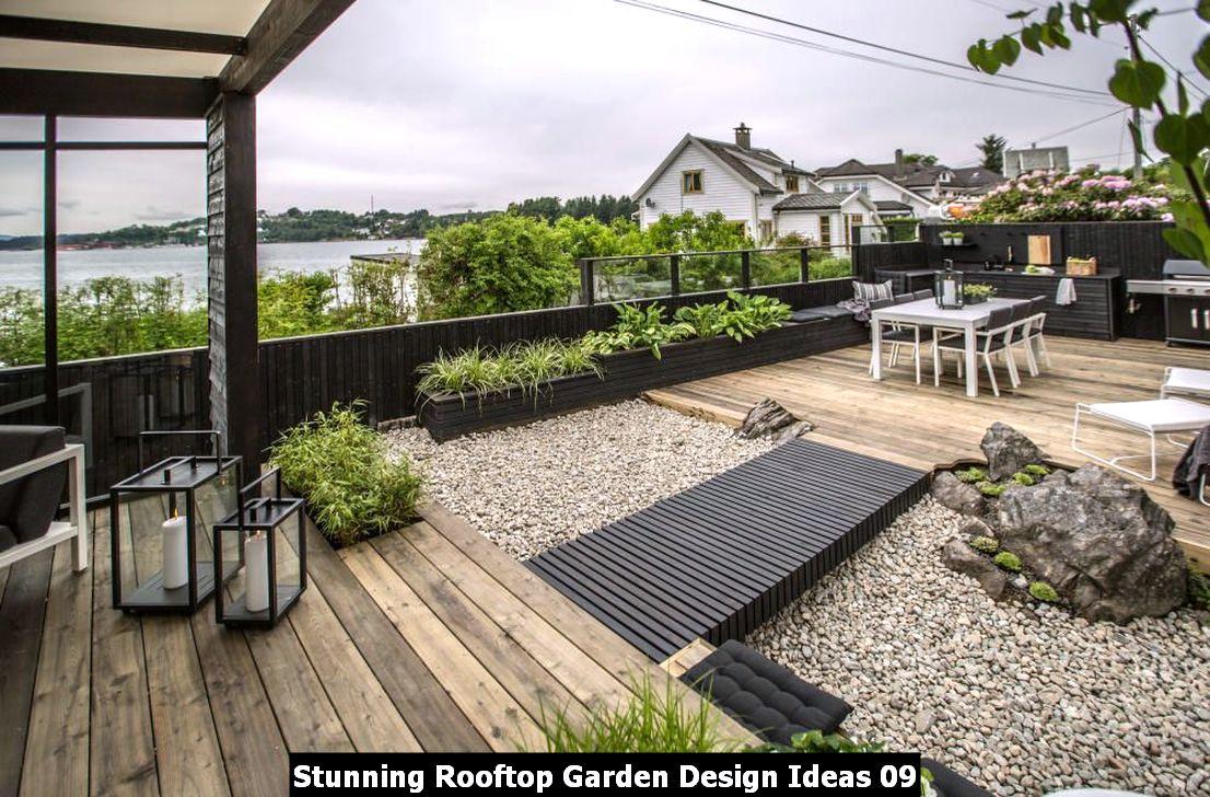 Stunning Rooftop Garden Design Ideas 09