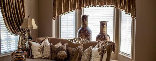Living Room Window Valances