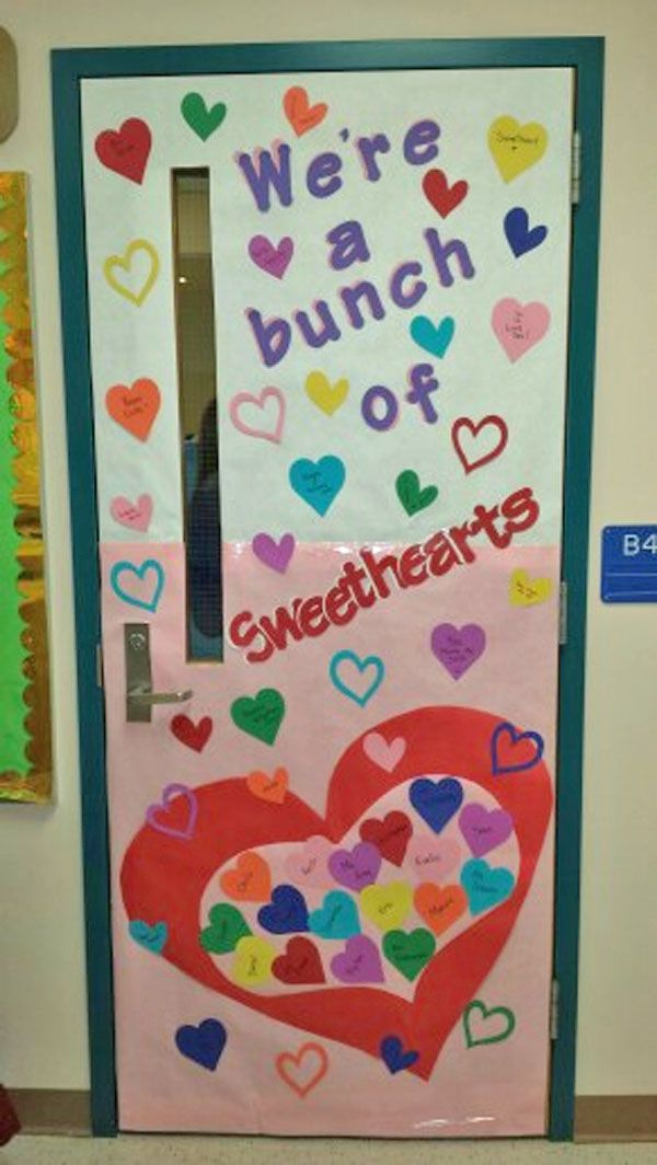 Classroom Door Decorations For Valentine's Day
