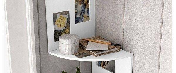 Corner Shelf For Living Room