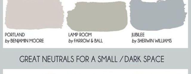 Gray Living Room Paint