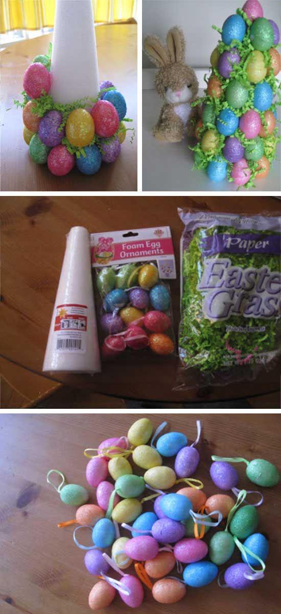 DIY Easter Decorations Dollar Tree