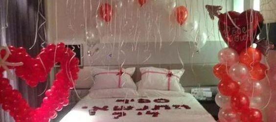 Valentines Day Room Decoration Ideas