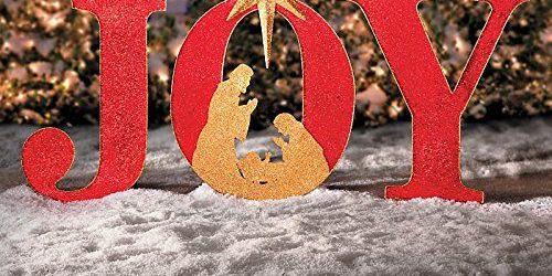 Christmas Joy Sign Outdoor Decor