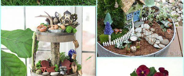 Homemade Fairy Garden Ideas
