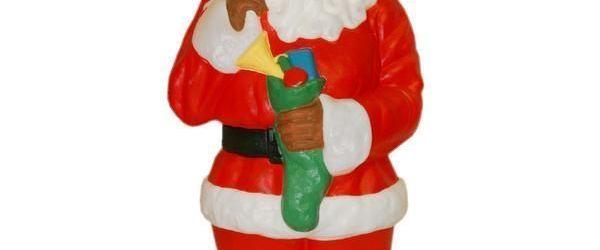 Black Santa Outdoor Decorations