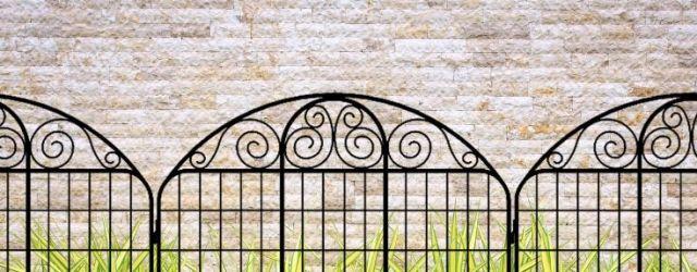 Decorative Garden Fence Panels
