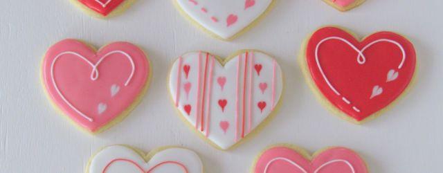 Valentine Sugar Cookies Decorating Ideas