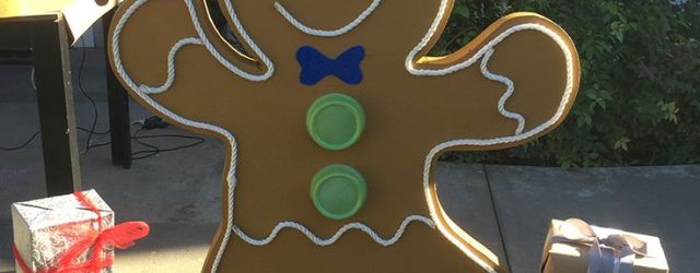 Gingerbread Man Outdoor Decorations