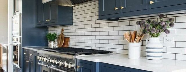 Blue Kitchen Cabinets Ideas