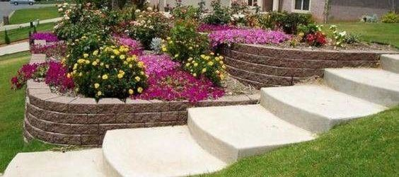 Sloped Front Yard Ideas On A Budget