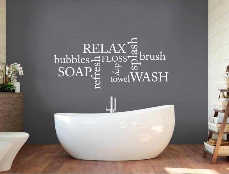 20 Bathroom Wall Stickers Magzhouse, Bathroom Wall Art Stickers