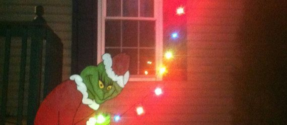The Grinch Outdoor Decorations