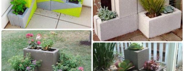 Concrete Block Garden Ideas