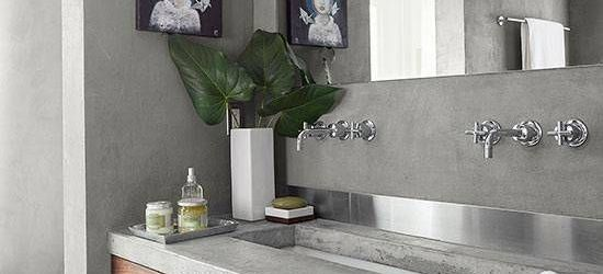 Concrete Bathroom Countertops
