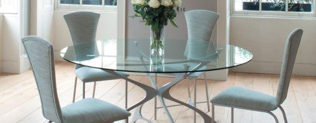 Round Glass Kitchen Table