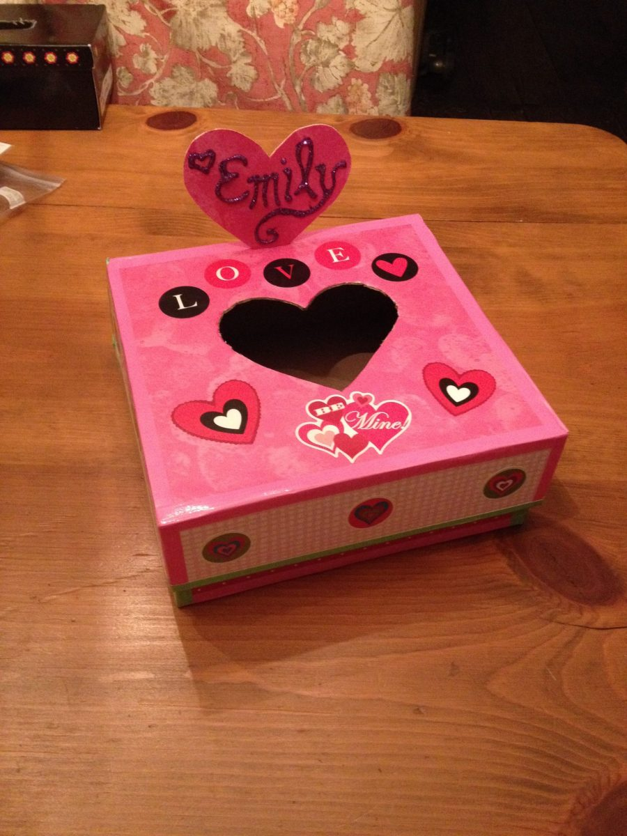 Shoe Box Decoration For Valentine's Day