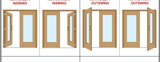 Left Hand Outswing Exterior Door