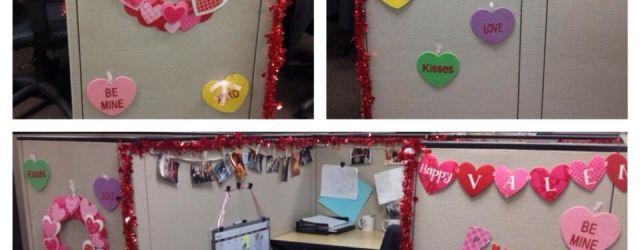 Valentines Day Office Decor