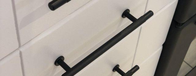 Black Kitchen Cabinet Handles