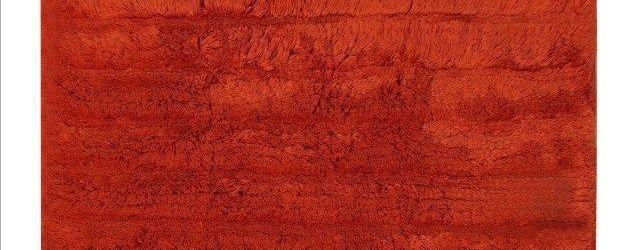 Orange Bathroom Rug