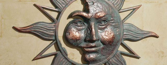 Metal Sun Outdoor Decor