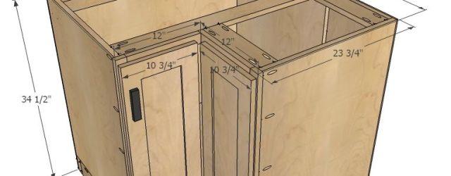 Corner Base Kitchen Cabinet