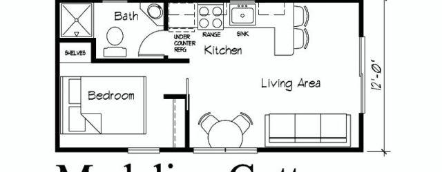12x24 Tiny House Interior