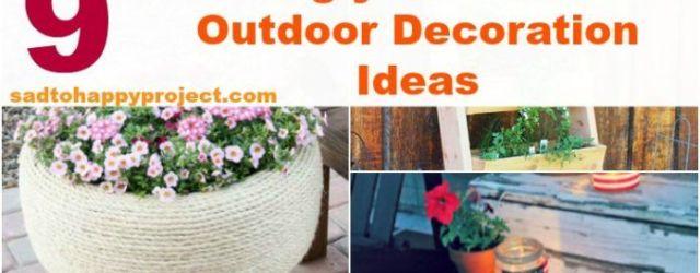 Outdoor Garden Decor Ideas