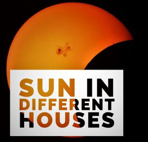 Sun in Different Houses