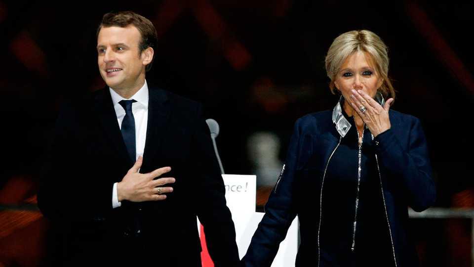 फ्रान्सच्या नव्या अध्यक्षांची अजब प्रेमकहाणी