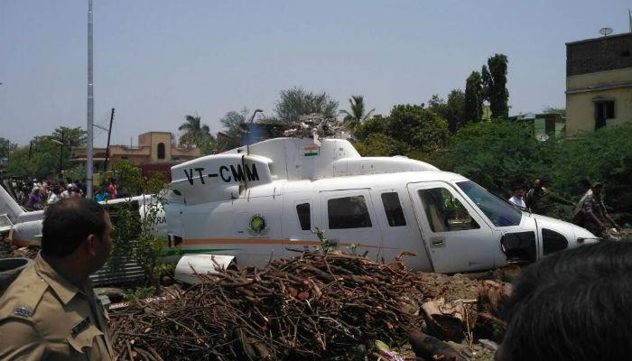 नेमका कसा आणि का घडला मुख्यमंत्र्यांच्या हेलिकॉप्टरला अपघात...