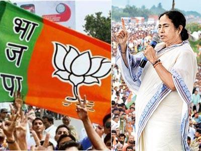 मुख्यमंत्री ममता बॅनर्जींच्या बंगालमध्ये भाजप 'हिरो', काँग्रेस 'झिरो'