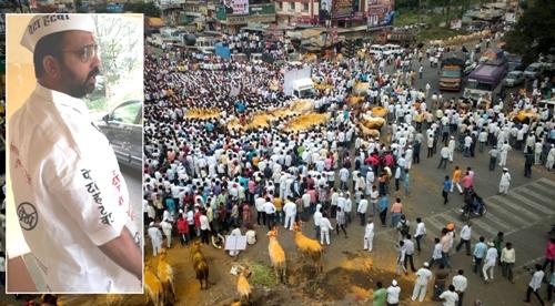 बैलगाडा शर्यत; 'पेटा हटाव...महाराष्ट्राची संस्कृती बचाव..'