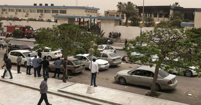 लीबियात आत्मघाती हल्ल्यात १२ जणांचा मृत्यू