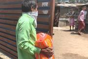 #Lockdown : मनसेतर्फे शहरातील गरजुंना अन्नधान्याचे किट घरपोच