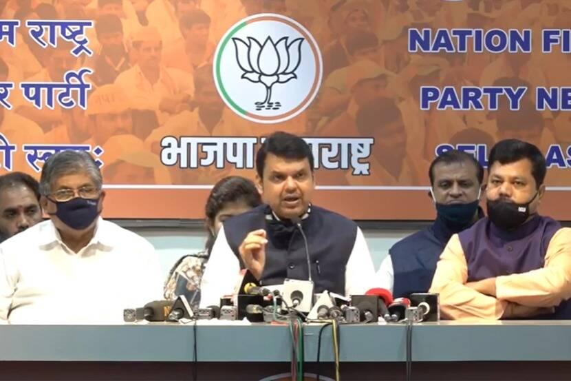 'महाराष्ट्रात अघोषित आणीबाणी लागू', फडणवीसांचे ठाकरे सरकारवर बाण