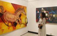 'द रोलिंग पेंटिंग' मध्ये ५०० हून अधिक पीव्हीसी पाईप्सवर साकारले निसर्गचित्र