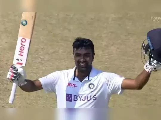 IND vs ENG : चेन्नईच्या खेळपट्टीवर अश्विनने झळकावले शतक