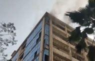 अंधेरीतील सात मजली इमारतीत भीषण आग