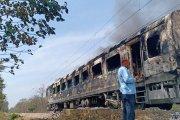 शताब्दी एक्सप्रेसच्या डब्यात भीषण आग; दिल्ली-डेहराडून प्रवासादरम्यान दुर्घटना